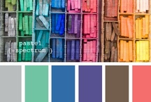 Color Palettes I Love! / Because colors make me happy!  ;)