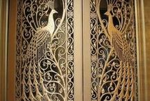 Door Decor / Bold ideas to unhinge your boring doors and step through the threshold of door decor.