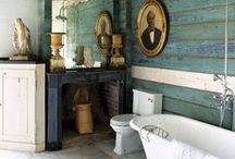 Beautiful Bathrooms / Dreamy bathrooms and their plumbing fixtures that make you green with envy.