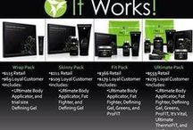 Wraps & Supplements ~ It Works! / Crazy wraps, greens, organic supplements & more