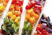 Veggie Rainbow / Think of it like Nature's Skittles!