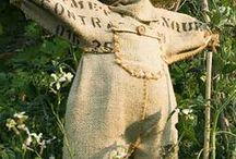 ☼ Epouvantails ☼ Garden scarecrow ☼