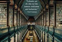 Lovely Libraries / What could be more beautiful than a library full of books?