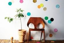 DIY / Fun DIY projects to make a really cool residence hall room.