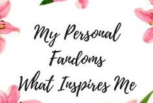 My personal Fandoms- what inspires me? / TV, movies, music
