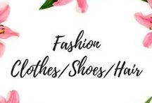 Fashion/clothes/shoes/hair etc