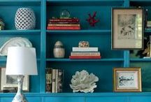 SHELVING DECOR INSPIRATION / by JILL JACKSON INTERIOR DESIGN