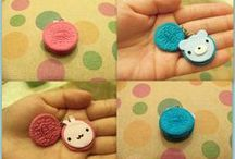Polymer Clay Creations By Me / some of the pieces I've made :) visit my shop on etsy! www.etsy.com/shop/TheCraftyWhale