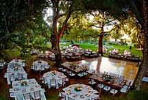 Wedding / #Wedding, #Rustic, #Country, #Beach, #Water-front, #Waterfront, #Water #front, #Hipster, #Southwest, #Bohemian #Receptions #Garden