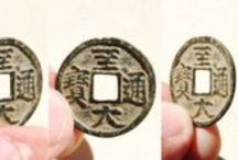 Yuan (元) Dynasty (or Mongol) Coins / This board contains photos of authentic Mongolian coins as well as coins cast by rebels of the cast during the Yuan Dynasty from 1279-1368 AD. / by Danny's History & Ancient Cash Coins