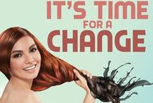 Hair Ideas / Try these hair ideas to change your look in an instant! #HPMakeThatChange #HortalezaProfessional