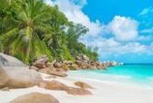 Playas de ensueño / Playas paradisíacas que nos hacen soñar. Los destinos perfectos para vuestro viaje de novios.