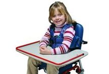 Special Needs Seats and Positioners / MaxiAids feeder seats, bath seats, school chairs,  positioning wedges, rolls and half rolls to meet special needs. For home use, physical therapy, special education and special needs programs, schools, physical education classes, exercise and more. Learn more at www.maxiaids.com #specialneeds #a11y