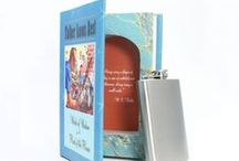 12 Best Father's Day Book Safes / A bookbox makes a unique gift for Dad - he can stash his flask, cash, valuables, or just his reading glasses and bedside stuff!   Best of all, YOU know which book it is!