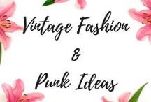 Vintage Fashion & Punk Ideas / Fashion from the 20s and 30s