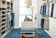 In the closet / Major closet envy // shop chic affordable items to fill yours up! www.thistleandfinn.com