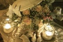 Romantico…shabby&chic / #love #candele #romantico #matrimonio #wedding