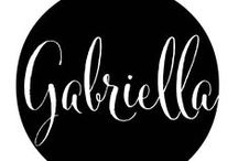 Discovering Gabriella / Main character of a story I'm working on. Talk to me Gabriella. Tell me who you are, so I can write your story.