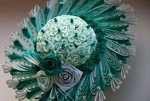 Quilling - hats