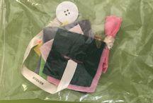 Bolsas de juego - busy bags / Algunas ideas para que los niños se entretengan cuando salimos fuera de casa. A partir de los 15-18 meses.