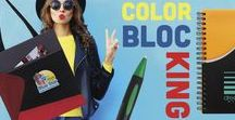2018 Trends - Color Blocking
