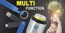 2018 Trends - Multi-Function / People LOVE when products serve multiple purposes or have bonus features. If a product can perform more than one function then you have twice the opportunity to make a lasting impression.