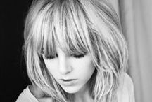 Bang Bangs. / Beautiful bangs and other hair like things. / by Leslie Ashford
