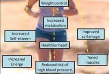 Health ~ exercises / by Shelly Massa