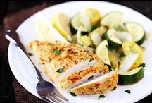 Recipes: Dinner / Delicious dinner courses - some healthy, some...not so much! ;)