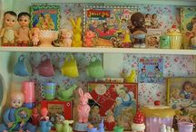 ~Vignettes~ / Making displays with collections and favorite items...