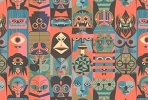 Patterns and Patchwork / Patterns, patchwork, textile, fabric, textures and motives. / by Pemulis