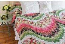 Floral Quilts and Flower Quilt Patterns / Patterns, kits, and fabrics, both realistic and whimsical, to celebrate your favorite garden. / by Keepsake Quilting