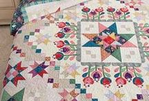 Colorful Quilting Fabric Collections / Look here for quilting patterns, fabrics, kit, and pre-cuts that run the full circle of the color wheel. / by Keepsake Quilting