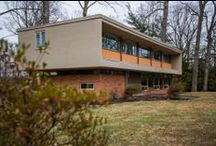 Mid-Century Modern Homes / Mid-century modern homes (some for sale!) in the Philadelphia area