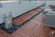 Deck Tiles / Need a quick fix to a boring backyard? Advantage Deck Tiles™  will brighten any outdoor space.