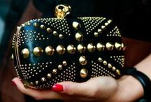 """Spikes & Studs / I love spikes and studs I don't care if they go """"out of trend""""."""