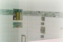 Tile Projects / Tile Projects ranging from backsplashes to bathrooms with everything from porcelain to natural stone.