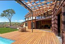 Garapa Deck, Patios & More... / Get gorgeous, golden decking with Garapa from AdvantageLumber.com