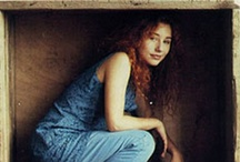 Tori Amos / Tori Amos as a young woman. Or as a goddess. Before botox, anyway. / by Pemulis