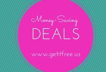 Money-Saving Deals / by Get It Free