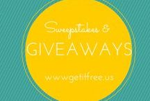 Sweepstakes & Giveaways / by Get It Free