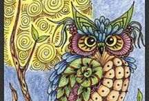 Art - Zentangle & Doodles / A New Kind of Doodling / by Freda McCarty