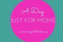 A Day Just For Moms / Show mom how much you care this year with thoughtful gifts, crafts, flowers and celebration ideas! / by Get It Free