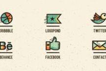 Web/Icons/ / by Sarah Davies