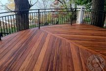 Tigerwood Decks, Patios & More / You're unique. Your home should be too. Distinguish yourself with Tigerwood decking from AdvantageLumber.com