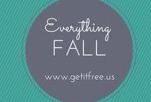Fall In ♥ With Fall / Autumn favorites to get you ready for the season - decor, how-to's recipes and more / by Get It Free