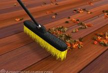 Crazy Deck? We'll tame it! / Easy decking maintenance tips for you, no matter the season!