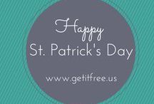 Luck of the Irish / Four-leaf clovers, leprechauns, green beer, pots of gold and rainbows – there's so much to love about St. Patrick's Day! Bring out your inner Irish with these ideas, recipes, DIY projects and more! / by Get It Free