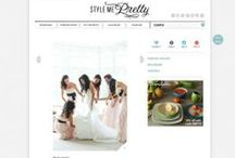 Featured weddings / Covers and articles featuring our work at http://www.llstylephoto.com