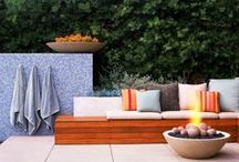 Summer Deck Ideas / Summer is here and it is time to start enjoying the outdoors and your deck with a cold beverage. Need inspiration? These ideas might just get you up and out.